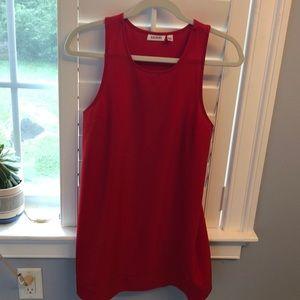 Red mini dress—XS